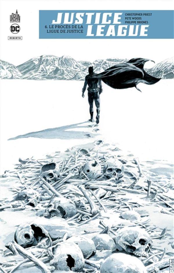 Justice league rebirth 06 : Le procès de la ligue de justice