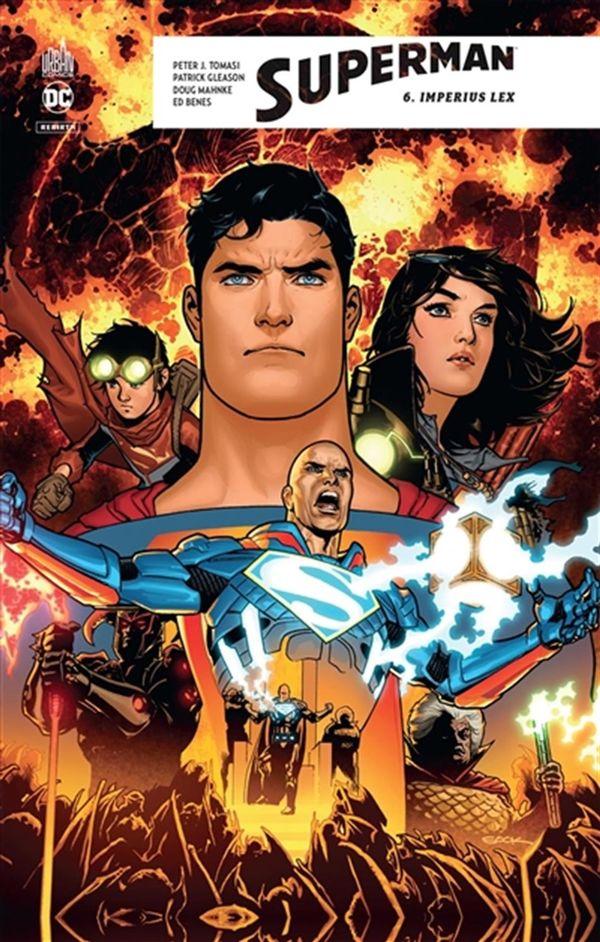 Superman rebirth 06 : Imperius Lex
