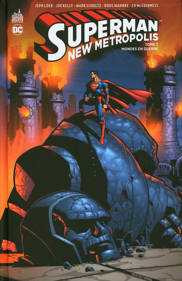 Superman New metropolis : Mondes en guerre