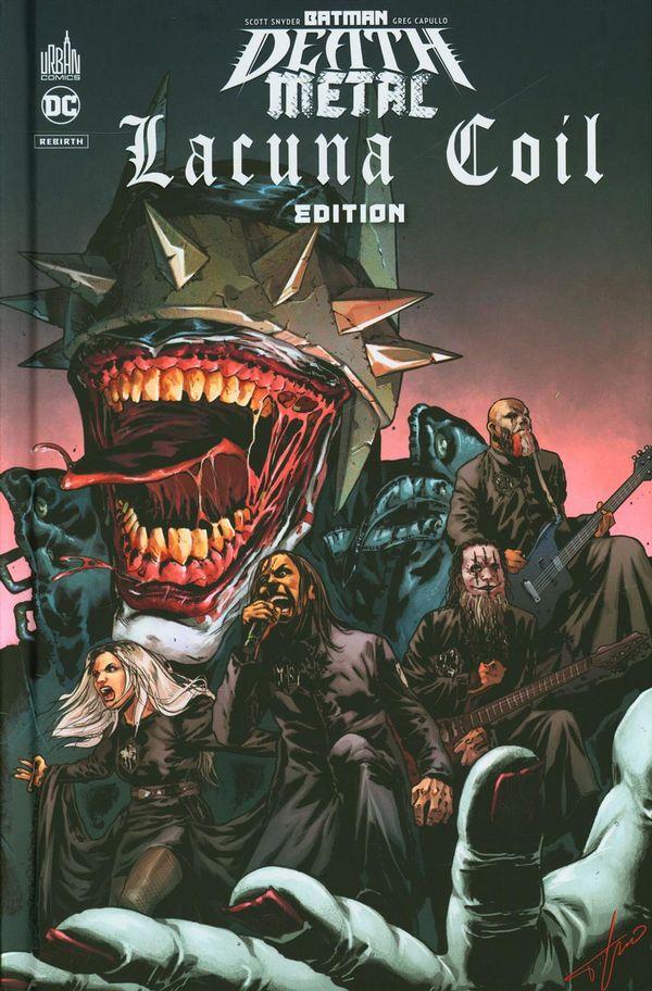 Batman Death Metal 03 - Lacuna Coil Edition