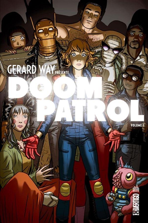 Gerard Way présente Doom patrol 01
