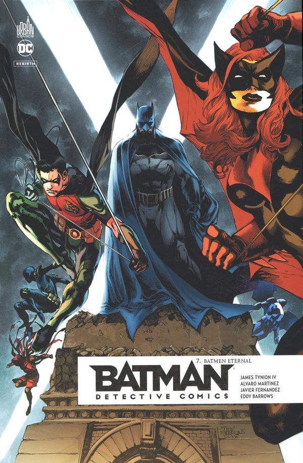 Batman Detective comics 07 : Batmen eternal