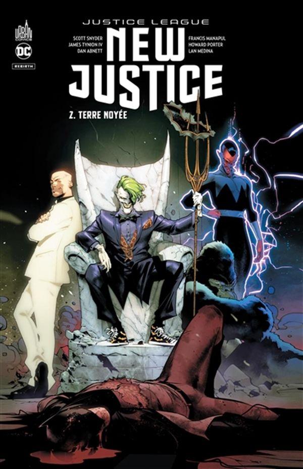 New justice 02 : Terre noyée