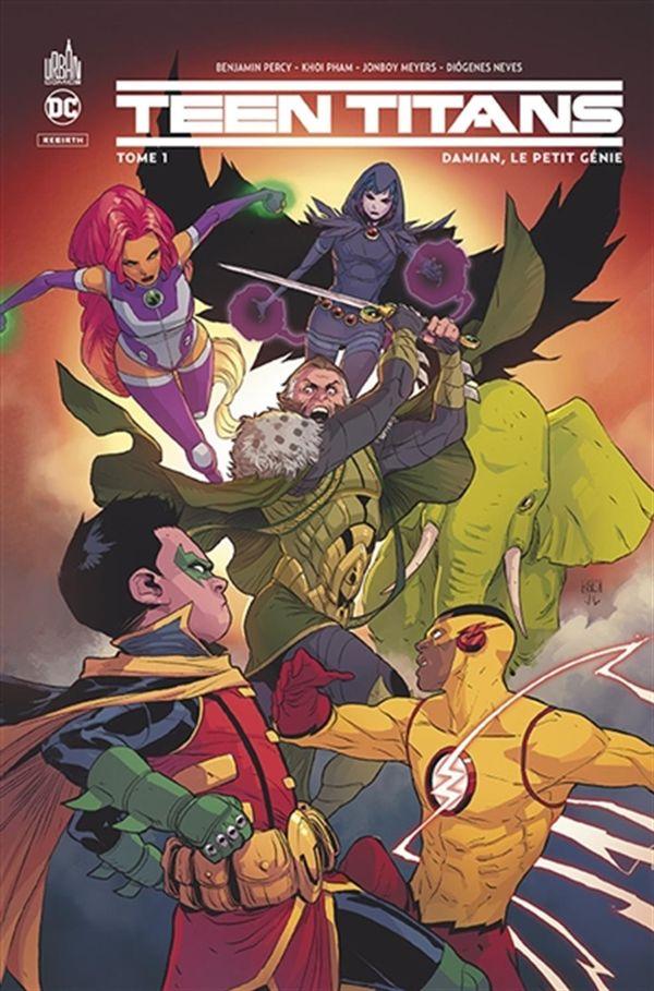 Teen Titans rebirth 01
