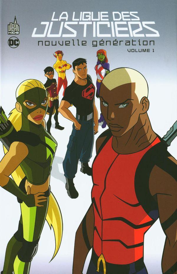 La Ligue des justiciers 01 : Nouvelle génération