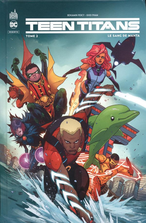 Teen Titans rebirth 02 : Le sang de Manta