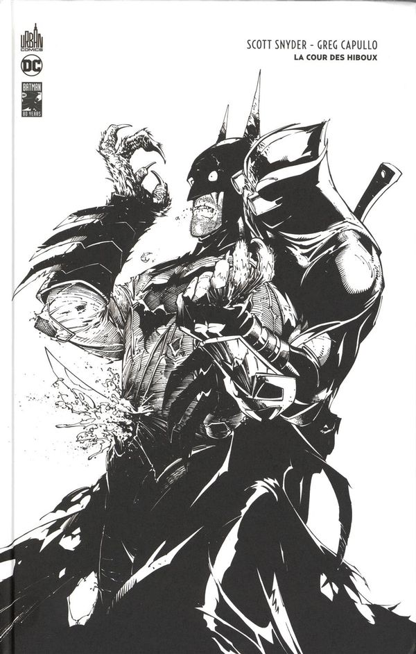 Batman - La cour des hiboux édition N&B 80 ans