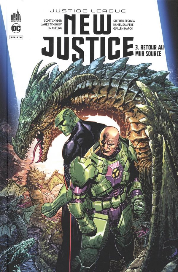 New justice 03 : Retour au mur source