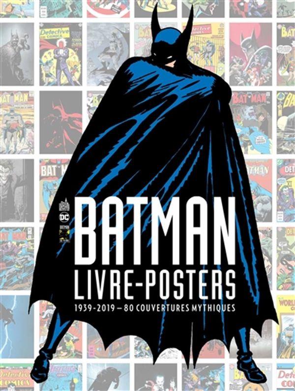 Batman 80  Les couvertures 01 (Livre poster) - 1939-1980