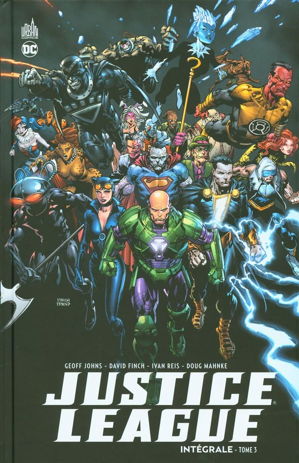 Justice League intégrale 03
