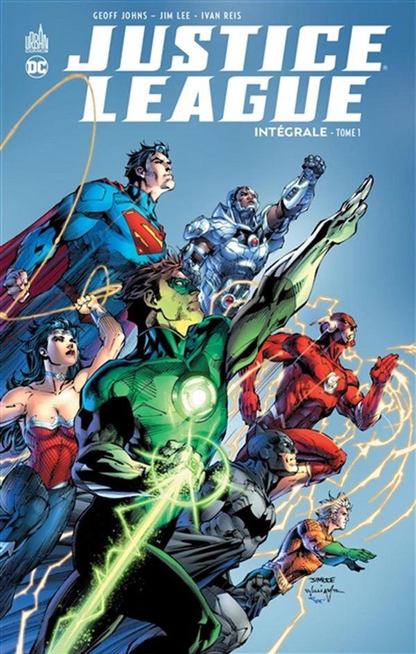 Justice league intégrale 01