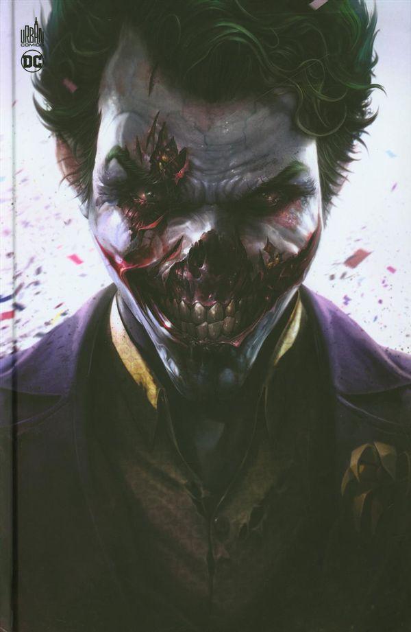 DCeased 01 -  Couverture Joker zombie