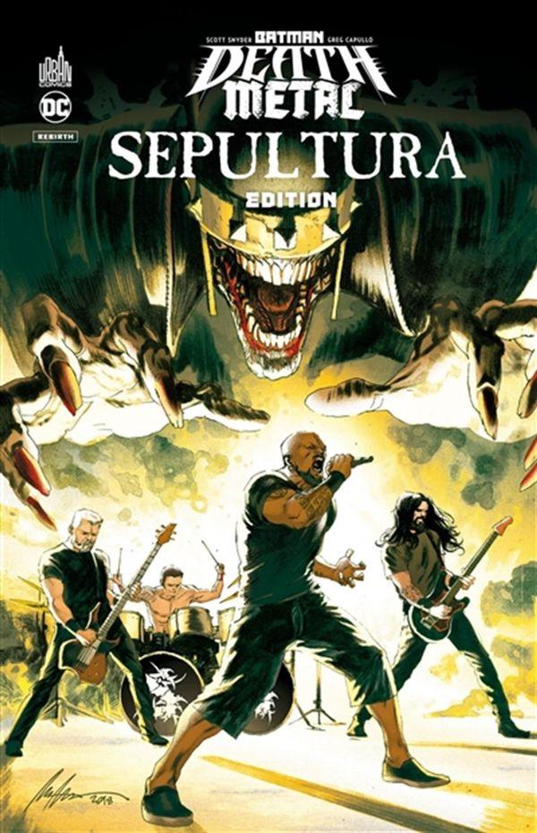 Batman Death Metal 05 - Sepultura Édition