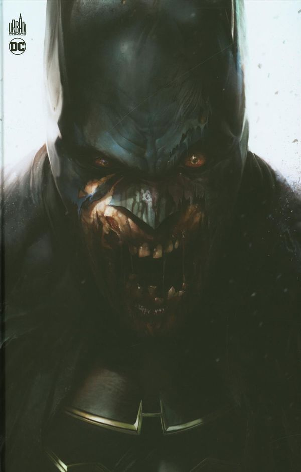 DCeased 01  - Couverture Batman zombie