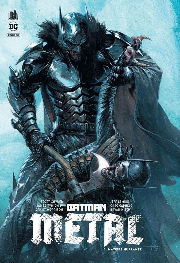 Batman metal 03 : Matière hurlante