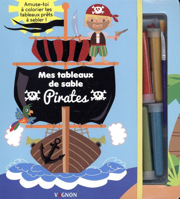 Mes tableaux de sable : Pirates