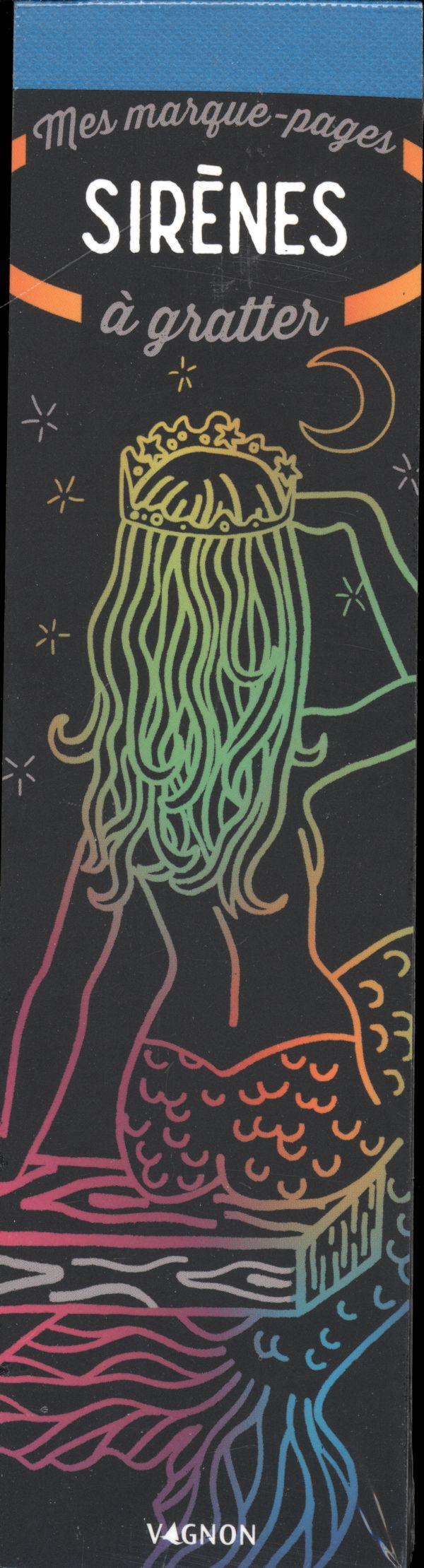 Mes marque-pages à gratter - Sirènes