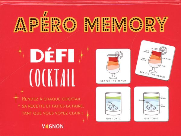 Apéro Mémory - Défi cocktail
