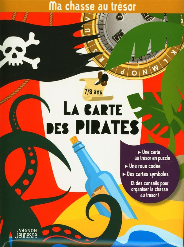 Ma chasse au trésor : La carte des pirates