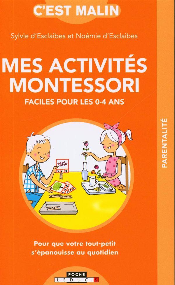 Mes activités Montessori faciles pour les 0-4 ans