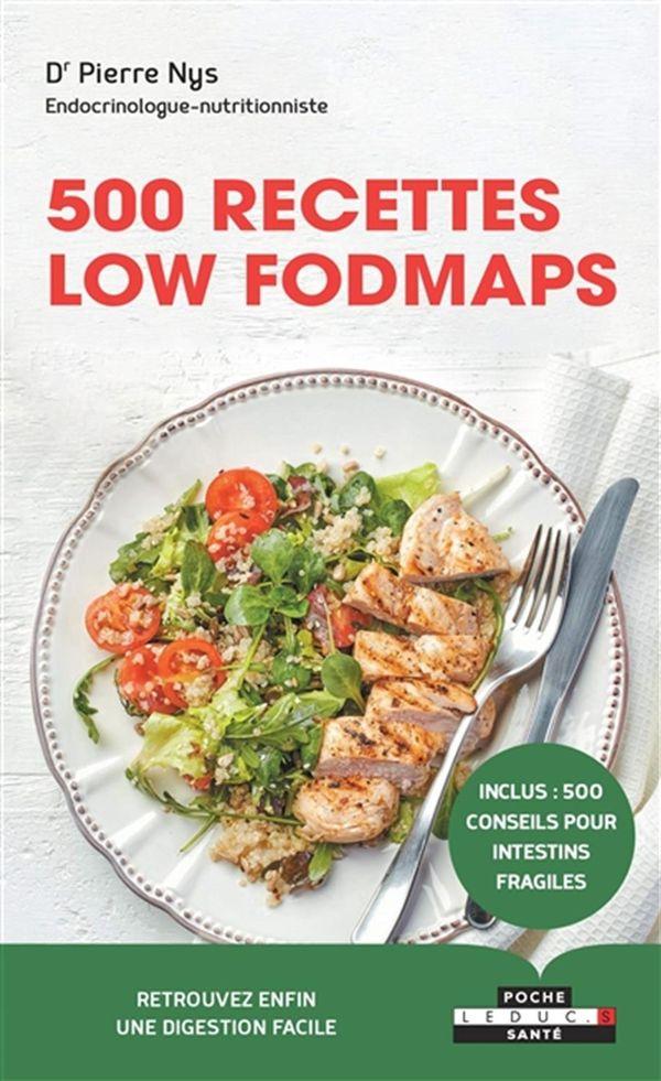 500 recettes low FODMAPS