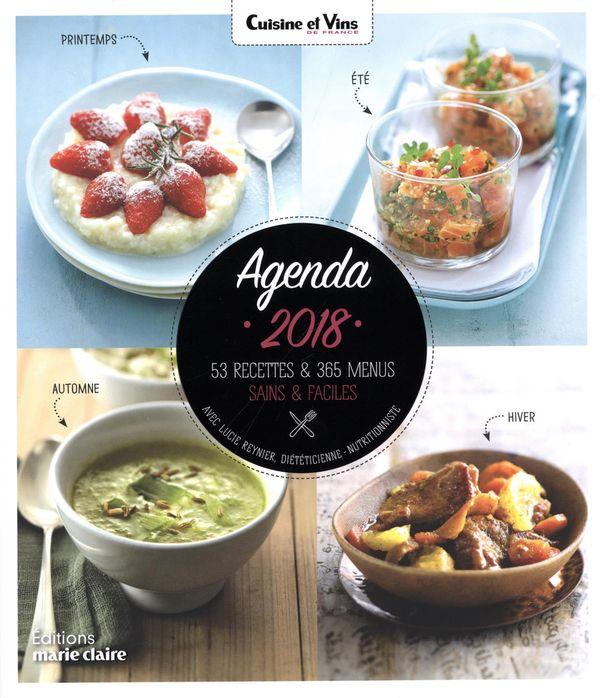Agenda Cuisine et Vins de France 2018