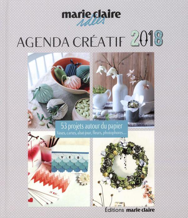 Marie Claire Idées : Agenda créatif 2018