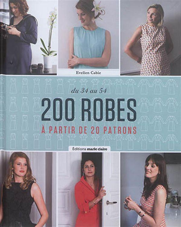200 robes à partir de 20 patrons