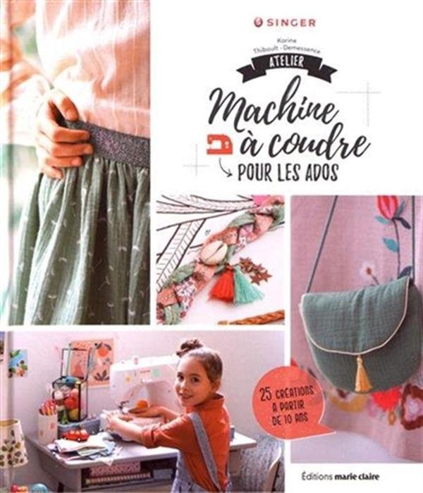 Atelier machine à coudre pour les ados