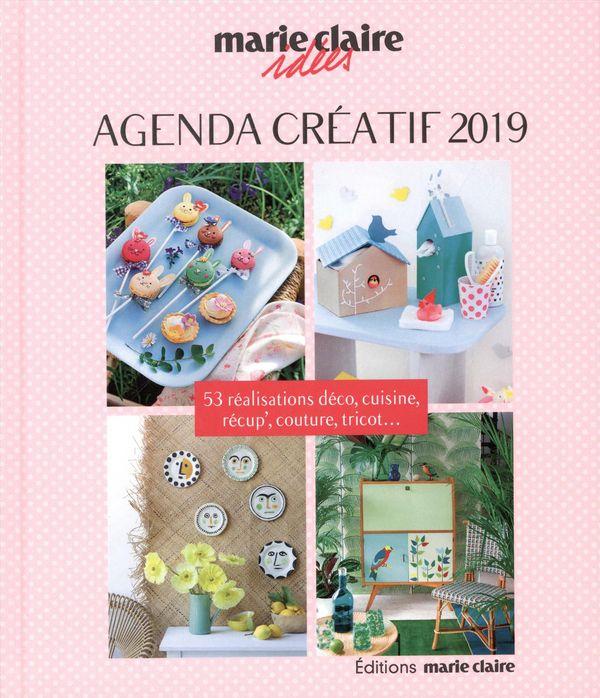Agenda créatif Marie Claire Idées 2019
