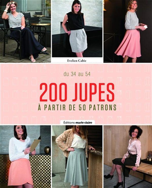 200 jupes à partir de 50 patrons