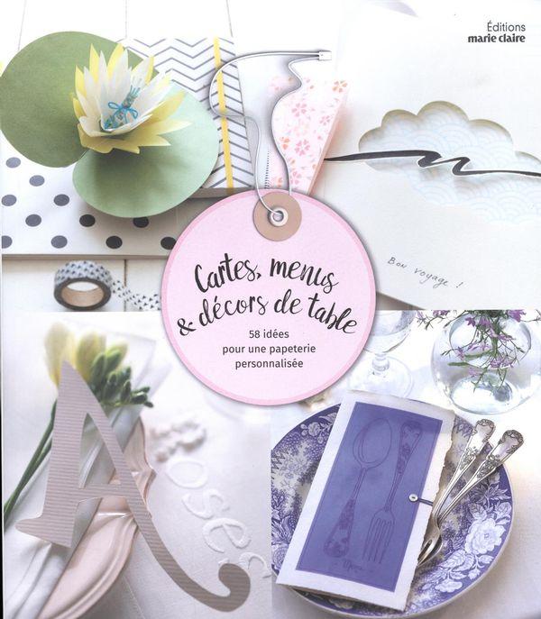 Cartes, menus & décors de table