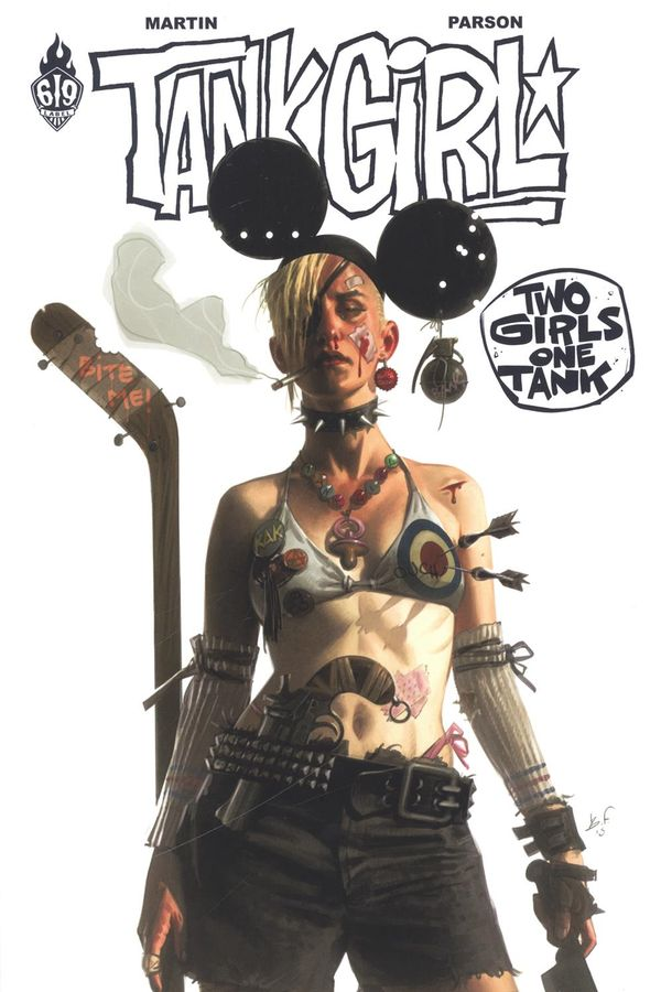 Tank girl 09 : Two girls one tank