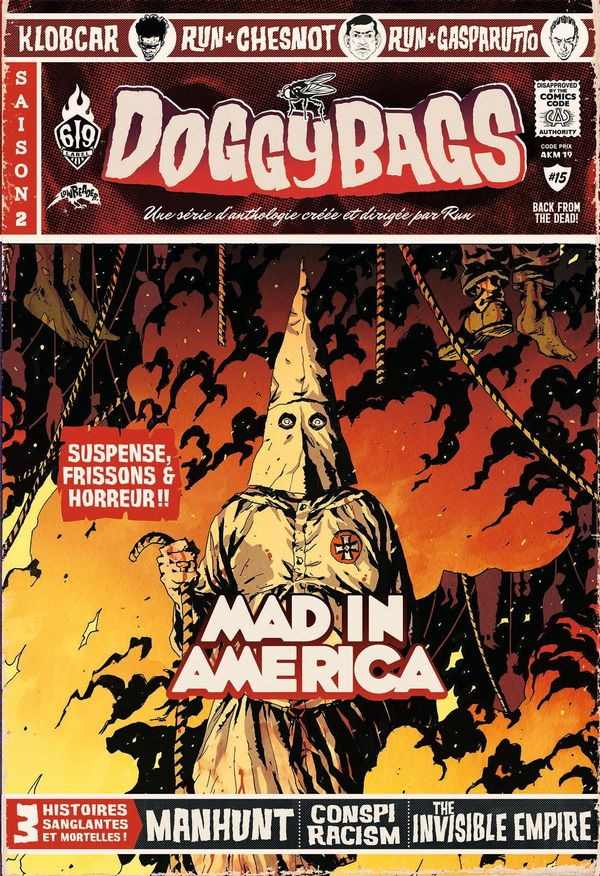 Doggybags 15 : Mad in America