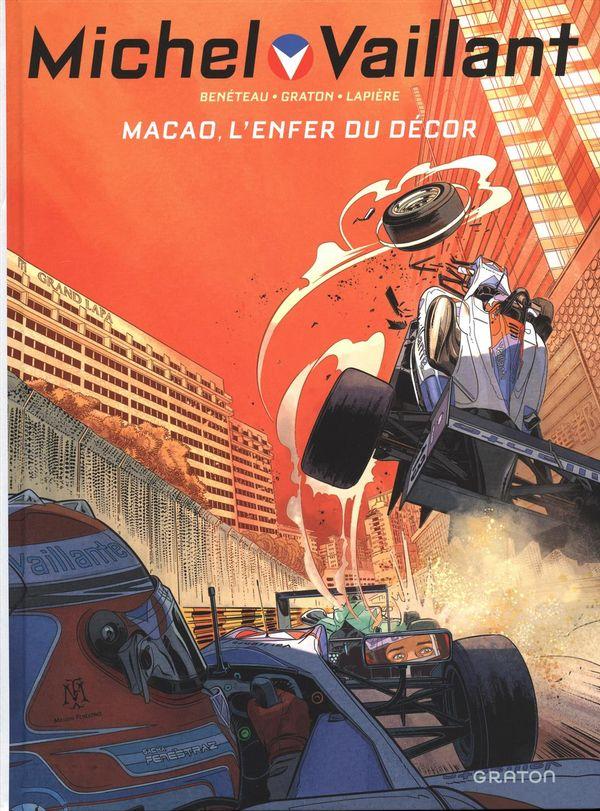 Michel Vaillant 07 : Macao, l'enfer du décor éditon augmentée