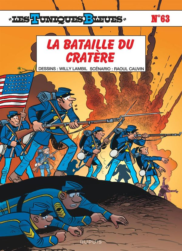 Les Tuniques bleues 63 : La bataille du cratère
