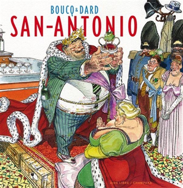 Artbook San Antonio édition spéciale