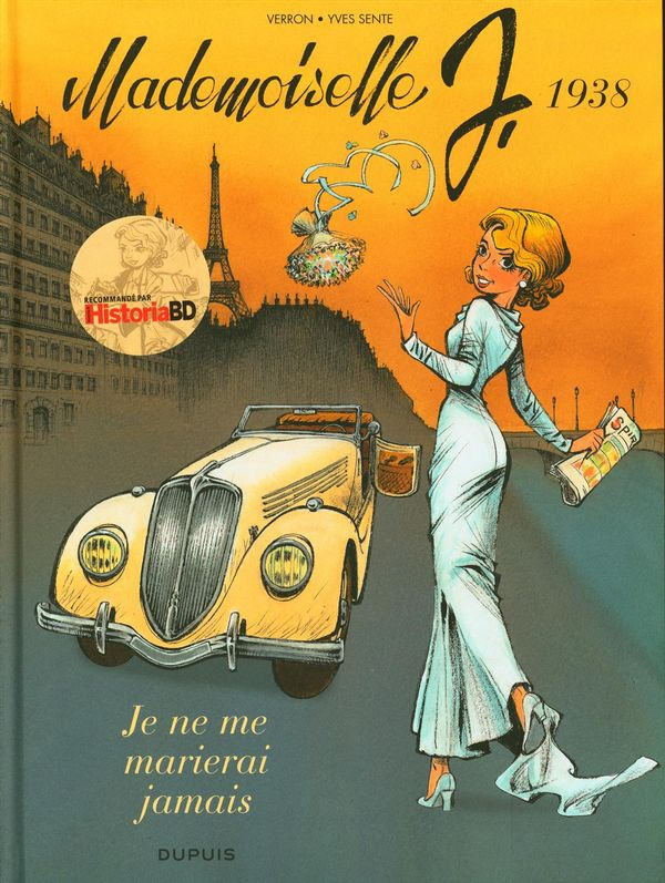 Mademoiselle J. 1938 02 - Je ne me marierai jamais