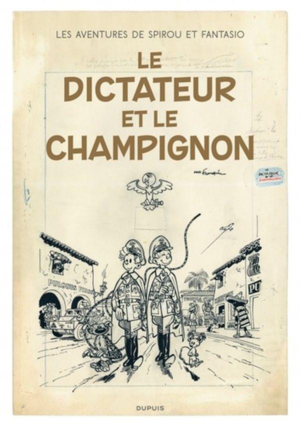 Les aventures de Spirou et Fantasio 23 : Le dictateur et le champignons (version originale)