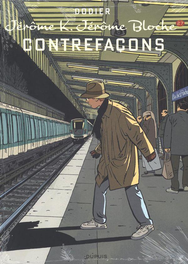 Jérôme K. Jérôme Bloche 27 : Contrefaçons édition spéciale