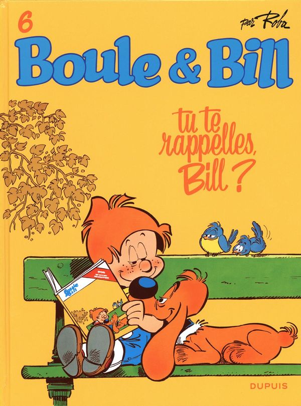 Boule & Bill 06 : Tu te rappelles, Bill? édition 2019