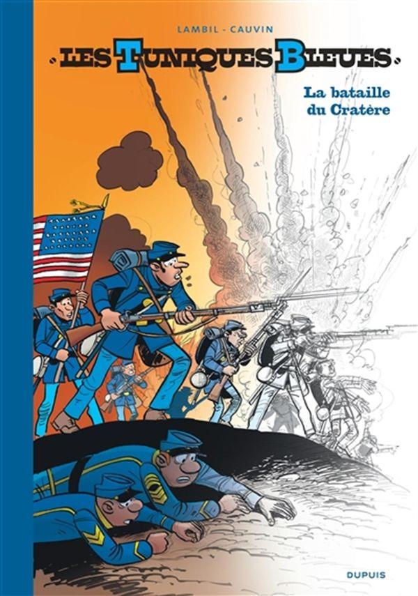 Les Tuniques bleues 63 : La bataille du cratère édition GF/N&B