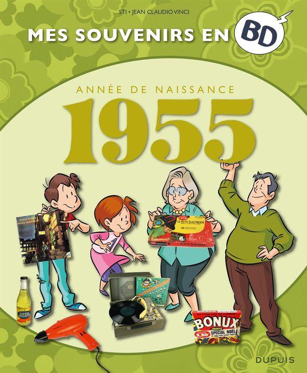 Mes souvenirs en BD 16  1955