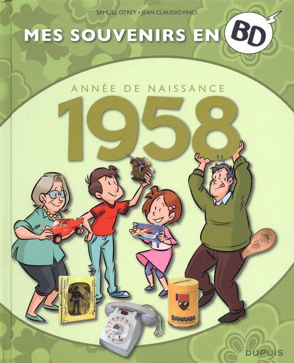 Mes souvenirs en BD 19 : 1958