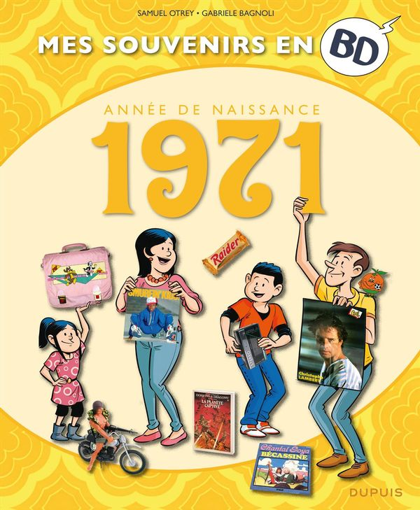 Mes souvenirs en BD 32 - 1971