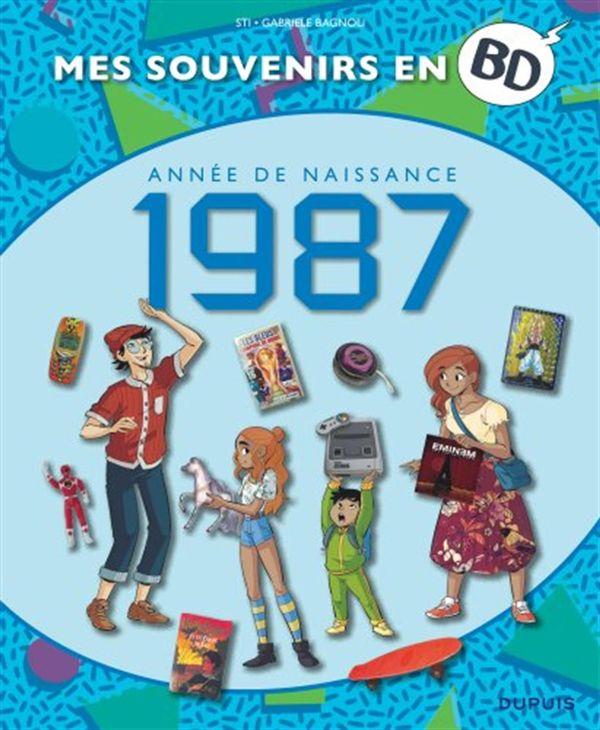 Mes souvenirs en BD - 1987