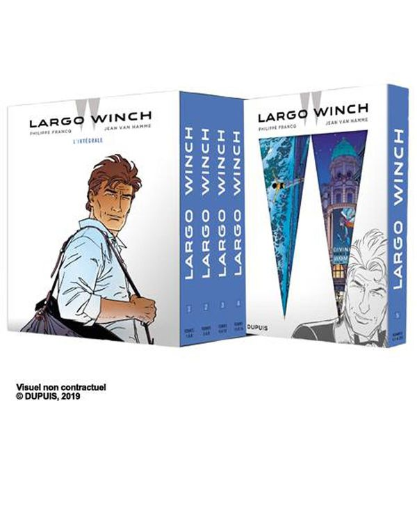 Largo Winch - Intégrale (Le Figaro) sous coffret