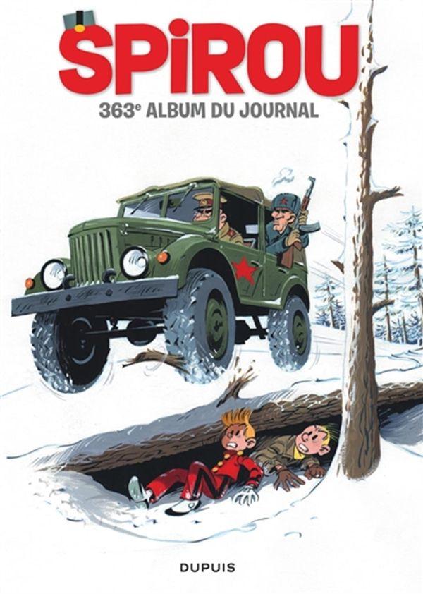 Recueil Spirou 363e Album du journal