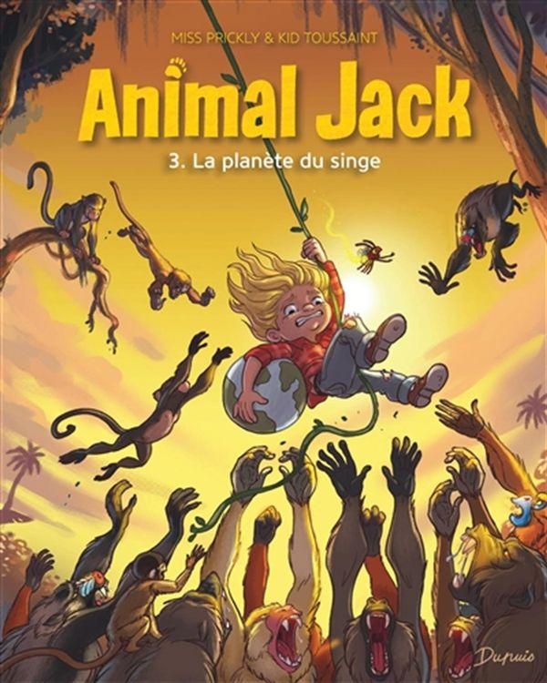 Animal Jack 03 : La planète du singe