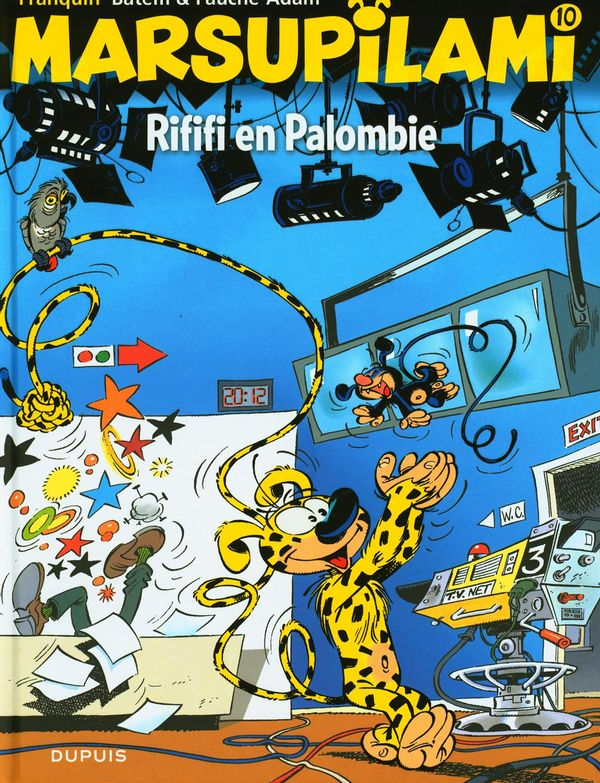 Marsupilami 10  Rififi en Palombie